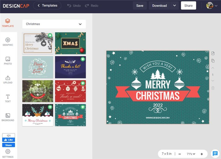 How to Make a Christmas Card Design