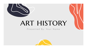 Art History Presentation Design