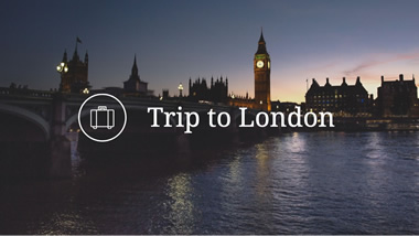 Tip to London YouTube Channel Art Design