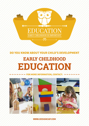 Education Childhood Poster Design