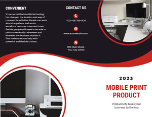 Company Product Brochure Design