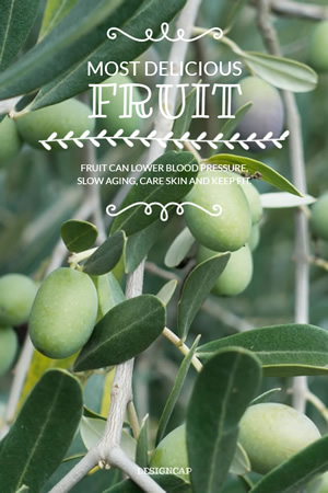 Fruit Promo Pinterest Graphic Design