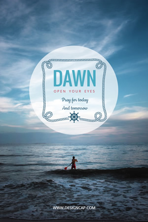 Dawn Pinterest Graphic Design