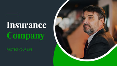Insurance Company YouTube Channel Art Design