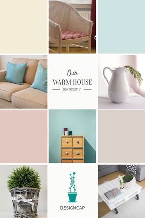 Home Decoration Pinterest Graphic Design