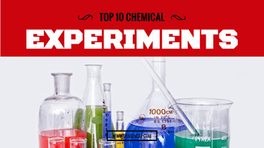 Chemical Experiments YouTube Thumbnail Design