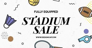Sports Sales Facebook Ad Facebook Ad Design