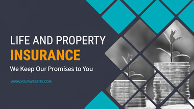 Property Insurance YouTube Channel Art Design