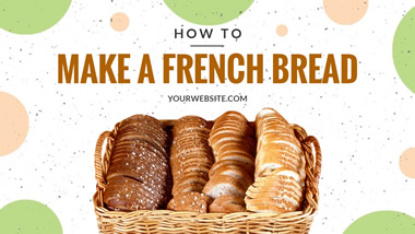 French Bread YouTube Thumbnail Design