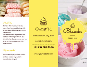 Sweets Pancake Brochure Design