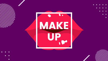 Make Up Channel YouTube Channel Art Design