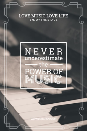 Love Music Life Pinterest Graphic Design