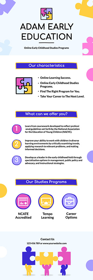 Early Education Infographic Design