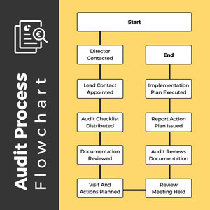 Audit Process Flowchart Chart Design