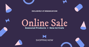 New Arrival Online Sales Facebook Ad Design