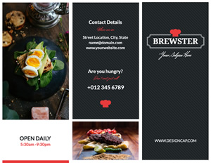 Yummy Food Brochure Design