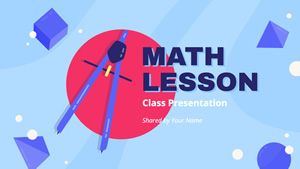 Math Lesson design