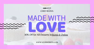 Dessert Shop Ad design