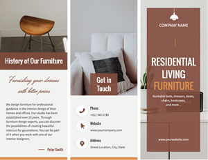 Furniture Introduction Brochure Design