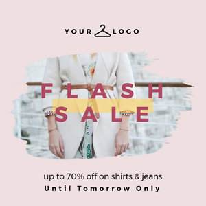 Flash Sales Instagram Post Design