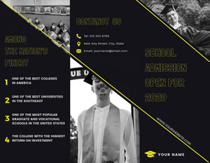 School Admission Brochure Brochure Design