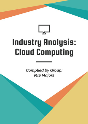 Industry Analysis Report Design
