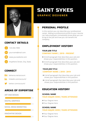 Graphic Designers Resume Design