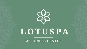 Lotus Spa Card Business Card Design