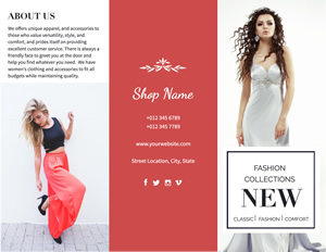 Fashion Show Brochure Design