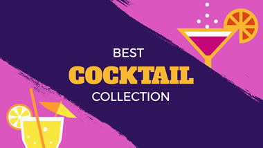 Cocktail Collection YouTube Channel Art Design