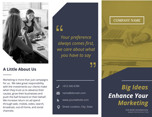 Company and Agency Brochure Design