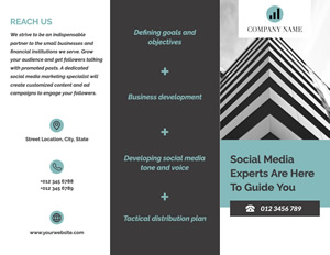 Trusted Company Brochure Design