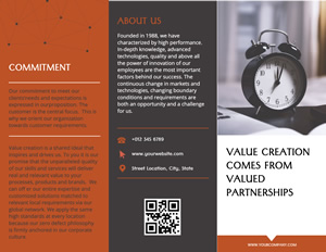 Business Partnership Brochure Design