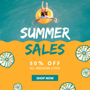Summer Special Offers Instagram Post Design