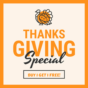 Thanksgiving Promo Instagram Post Design