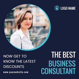 Consultant Business Instagram Post Design