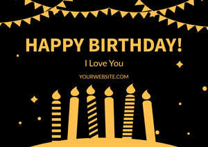 Best Birthday Wishes Card Design
