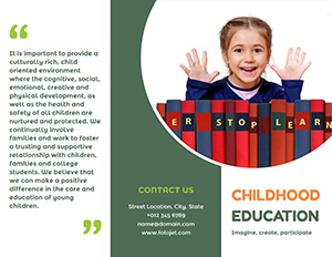 Early Education Brochure Design