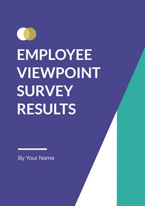 Survey Results Report Design