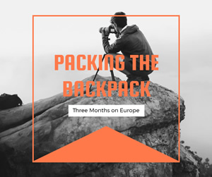 Backpack Trip Facebook Post Design