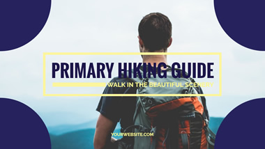 Hiking Guide YouTube Thumbnail Design