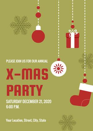 Free Online Holiday Event Poster Maker Designcap
