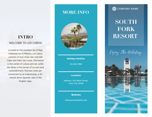 Resort Brochure Brochure Design