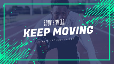 Keep Moving YouTube Channel Art Design