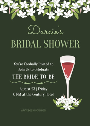 Bridal Shower Invitation Design