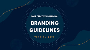 Brand Guideline Presentation Design