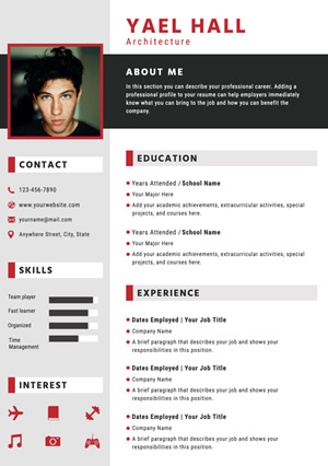 Architecture Resume Design