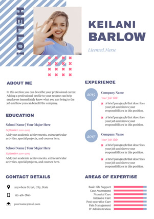 Nursing Resume Design