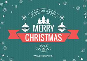 Simple Christmas Card Design