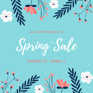 Spring Sales Instagram Post Design